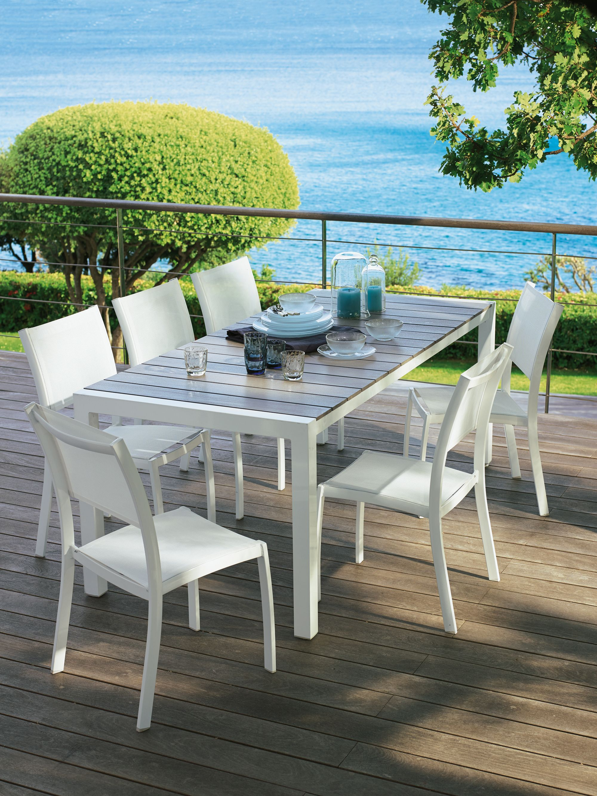 Table De Jardin Aluminium 12 Personnes Table Jardin Leclerc Catalogue