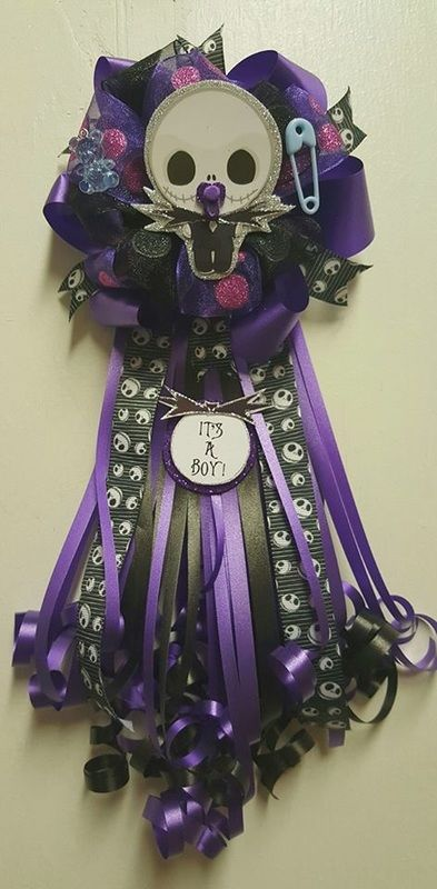 I am making one for Lluvia LLuviau0027s Baby Shower Pinterest - nightmare before christmas baby shower decorations