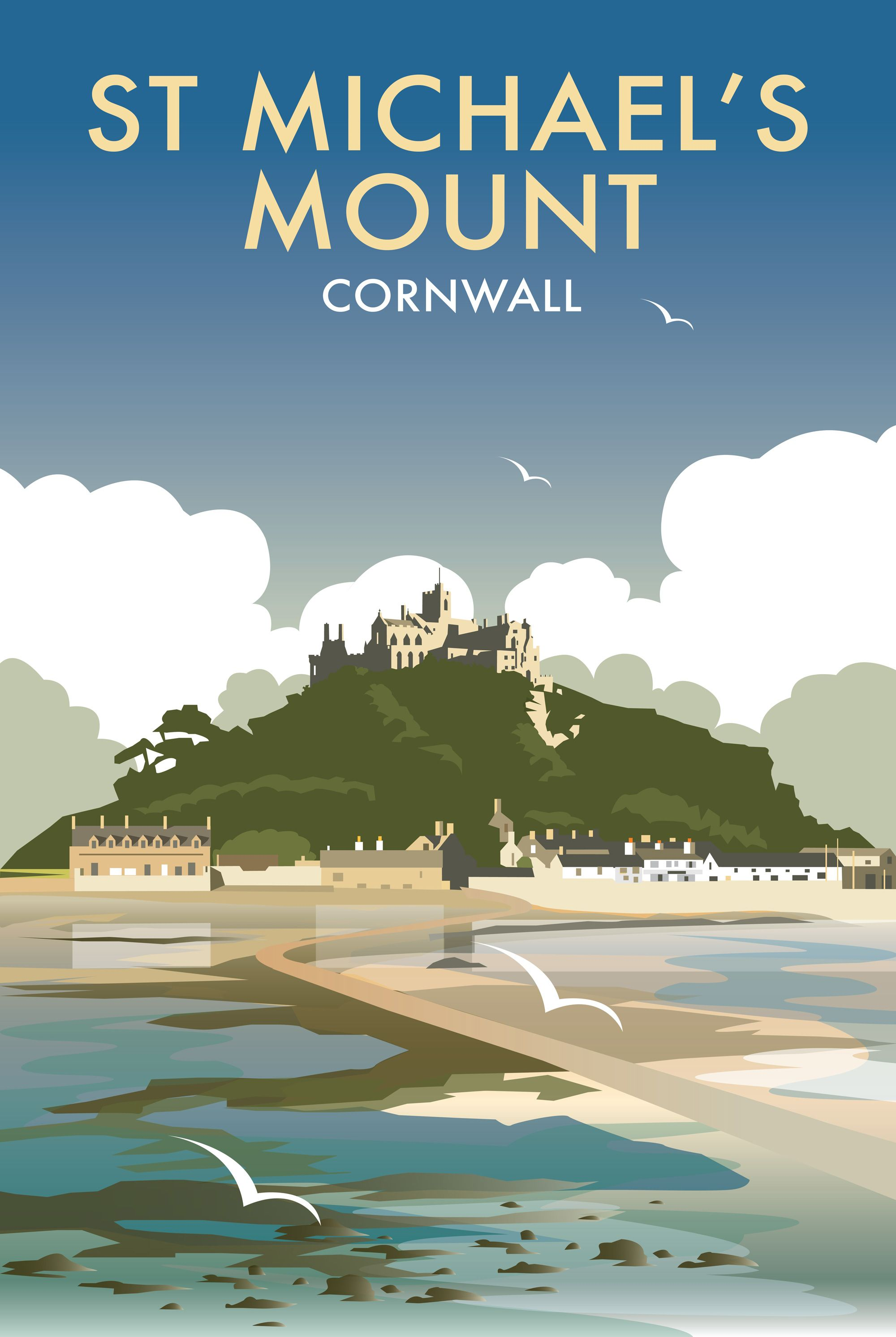 Beach Prints St Michael 39s Mount Dt38f Beach And Coastal Print By Dave