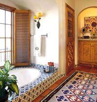 Decorating with Mexican Talavera Tile   Quail run ...