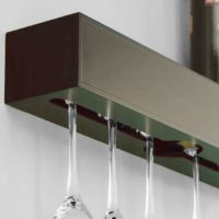 Wine Glass Rack Holder Wall Wood Hanging Storage Hanger ...