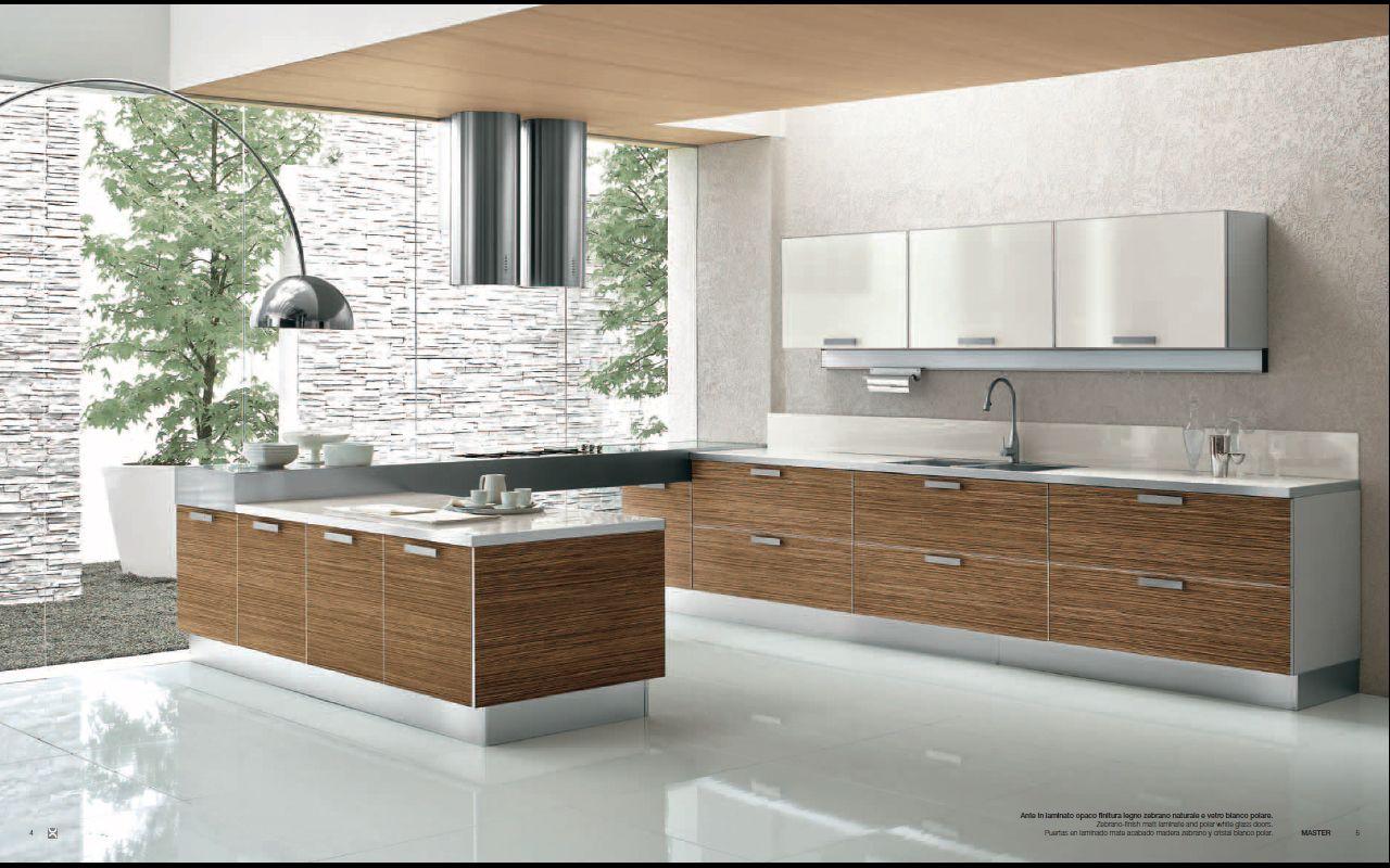 kitchen interior design contemporary interior design Designs from Berloni Master Club Modern Kitchen Interior