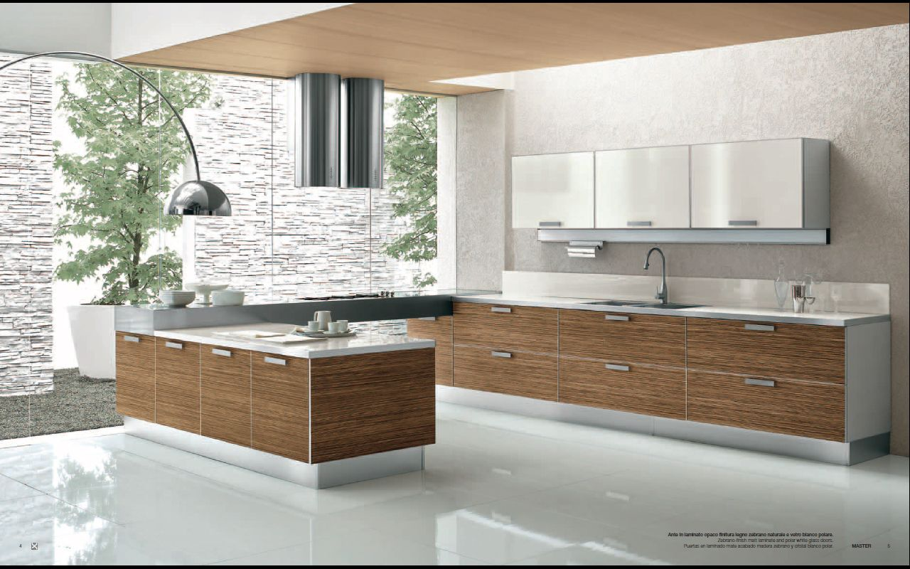 modern kitchen designs Designs from Berloni Master Club Modern Kitchen Interior