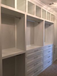 Custom Closet | ideas | storage ideas| master closet ...