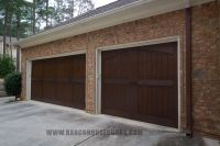 Ranch House Doors Elements Collection faux wood garage ...