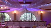 wedding ceiling draping | reception decorations ...