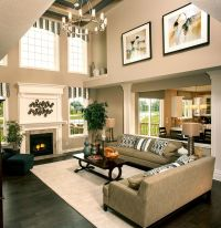 Breaking up a two story wall | Two-Story Family Room ...