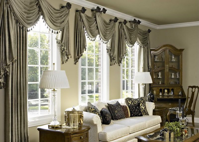 ideas for living room curtain designs Home Pinterest Curtain - modern living room curtains