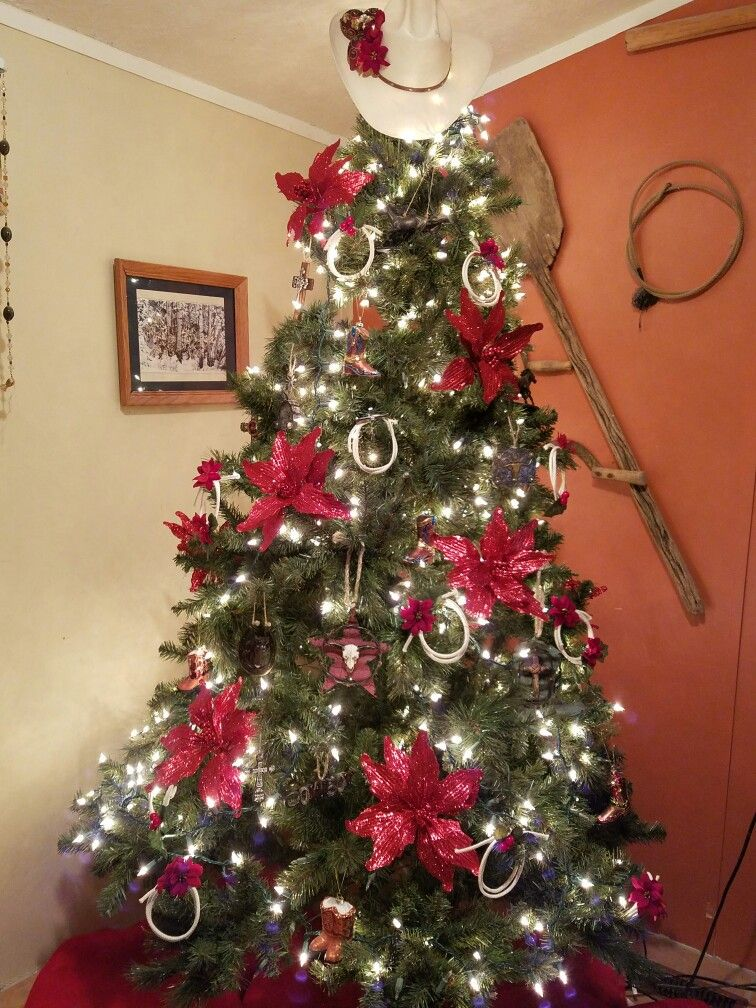 Cowboy Christmas Tree u2026 Pinteresu2026 - western christmas decorations