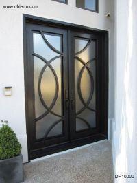 contemporary iron doors doors | Modern stainless steel ...