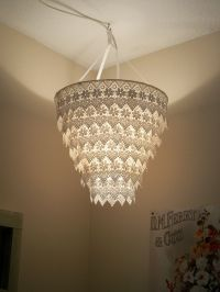 Diy Lampshade Lace | www.pixshark.com - Images Galleries ...