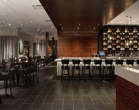 Vesu Restaurant featuring Niche Modern Aurora pendant