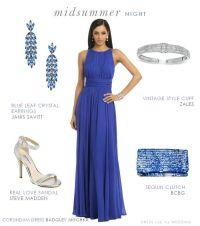 Blue Formal Dress for a Wedding Guest | Blue formal ...