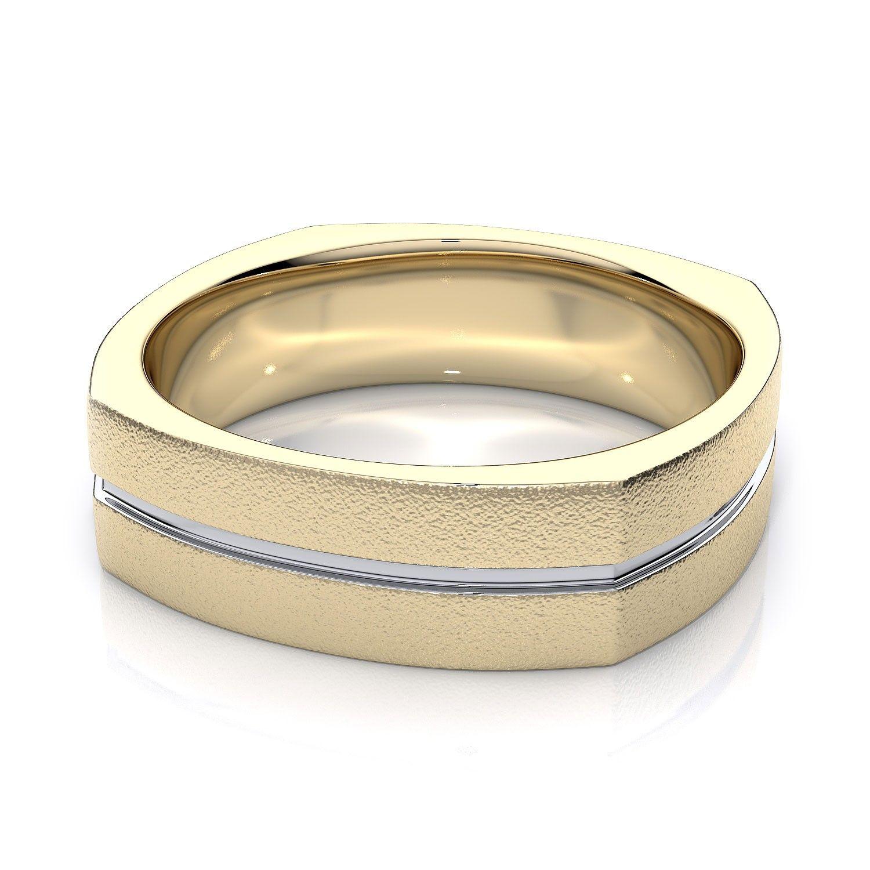 yellow gold wedding rings men wedding rings unique wedding ring male gold