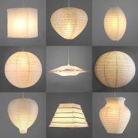 Pair of Modern Paper Ceiling Pendant Light Lamp Shades ...