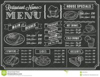 rustic chalkboard menu templates - Google Search | Smokin ...