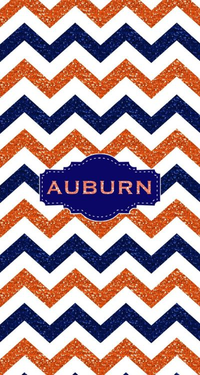 War Eagle Auburn Glitter Monogram wallpaper. Made with @MonogramApp | Monograms | Pinterest ...