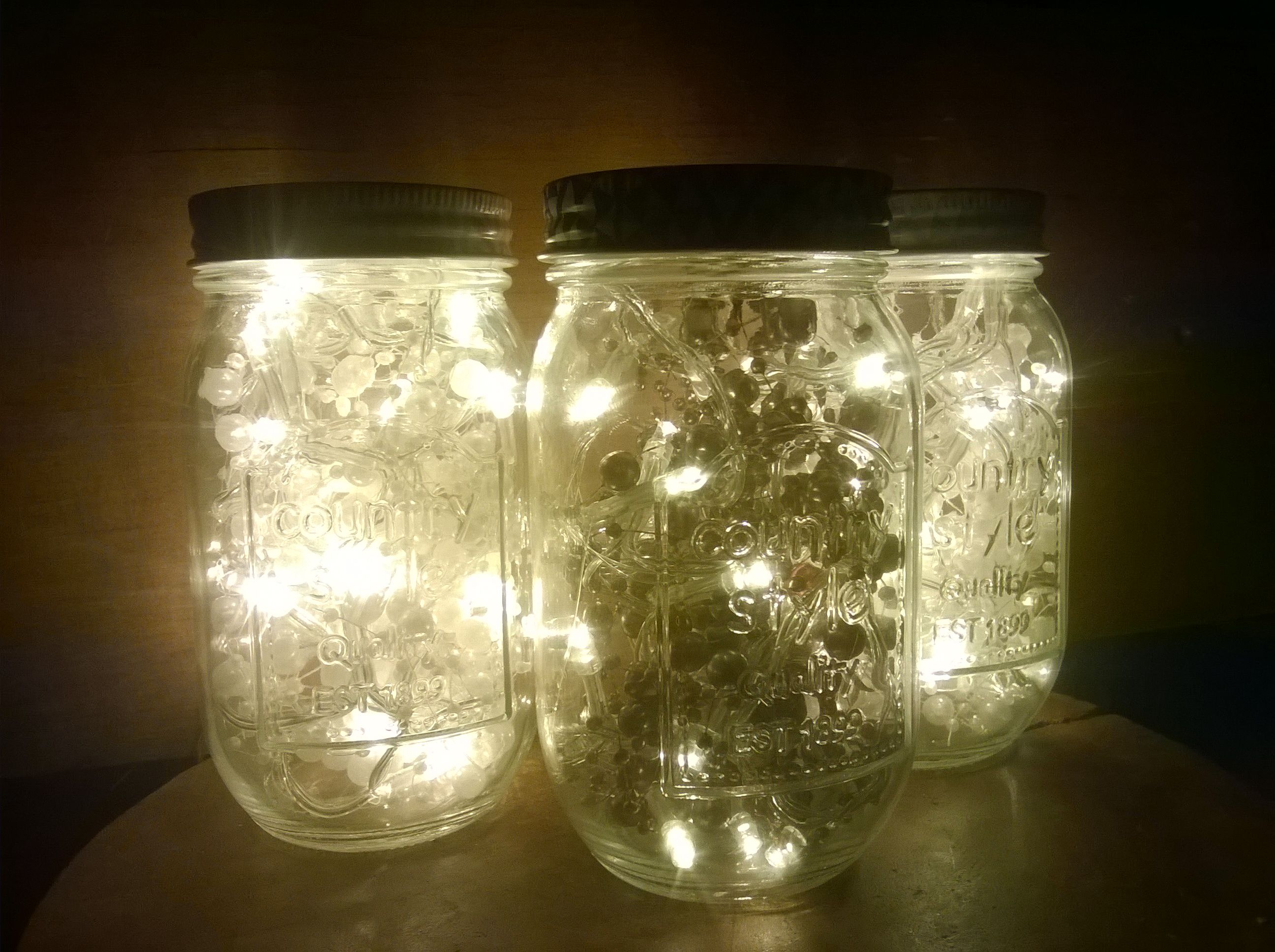 Just Jars These Jar Lights Like Fireflies In Jars Just Beautiful