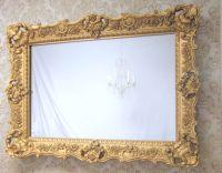 "HOLLYWOOD REGENCY MIRRORS For Sale 45""x33"" Large Vanity ..."