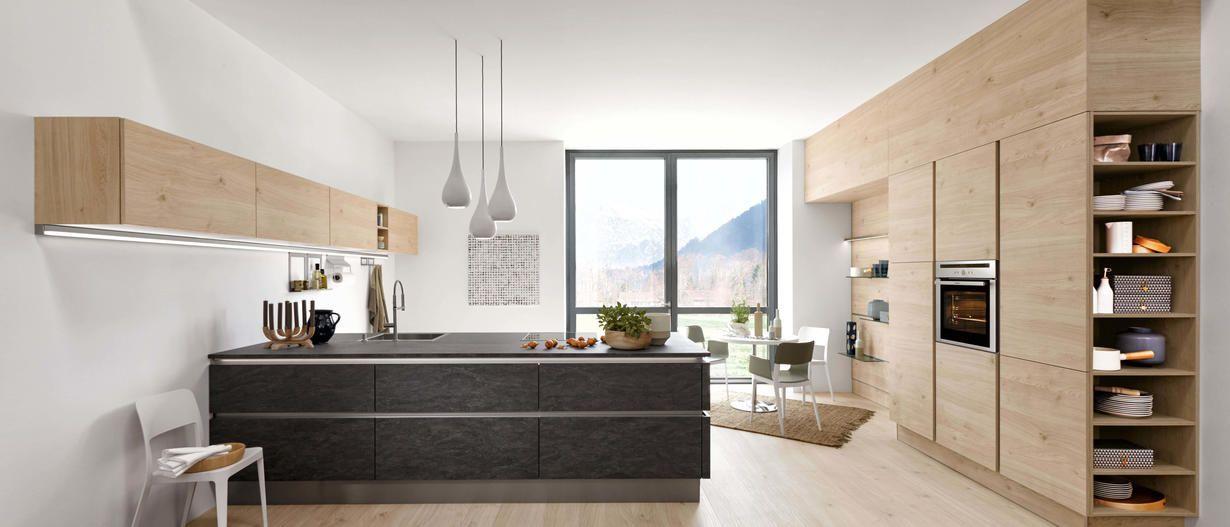 Moderne Küchen Nolte Küchen Küchen Pinterest   Moderne Kuchengestaltung Mit  Charakter