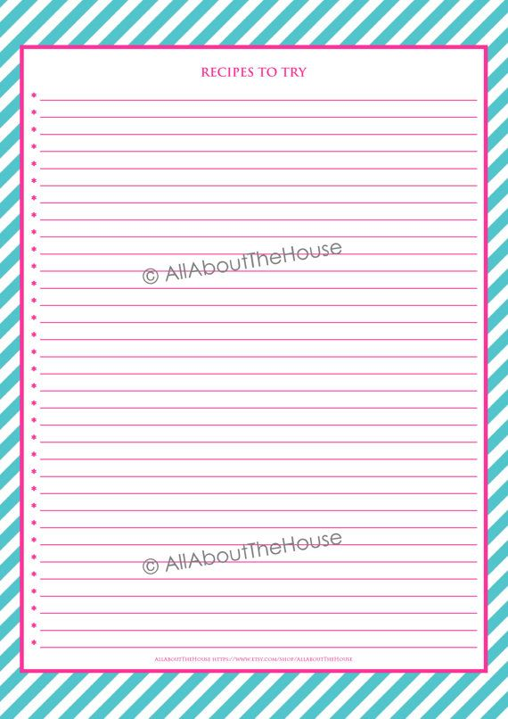 EDITABLE Recipe Binder Printables Recipe Sheet Recipe Card Recipes - free recipe card templates for microsoft word