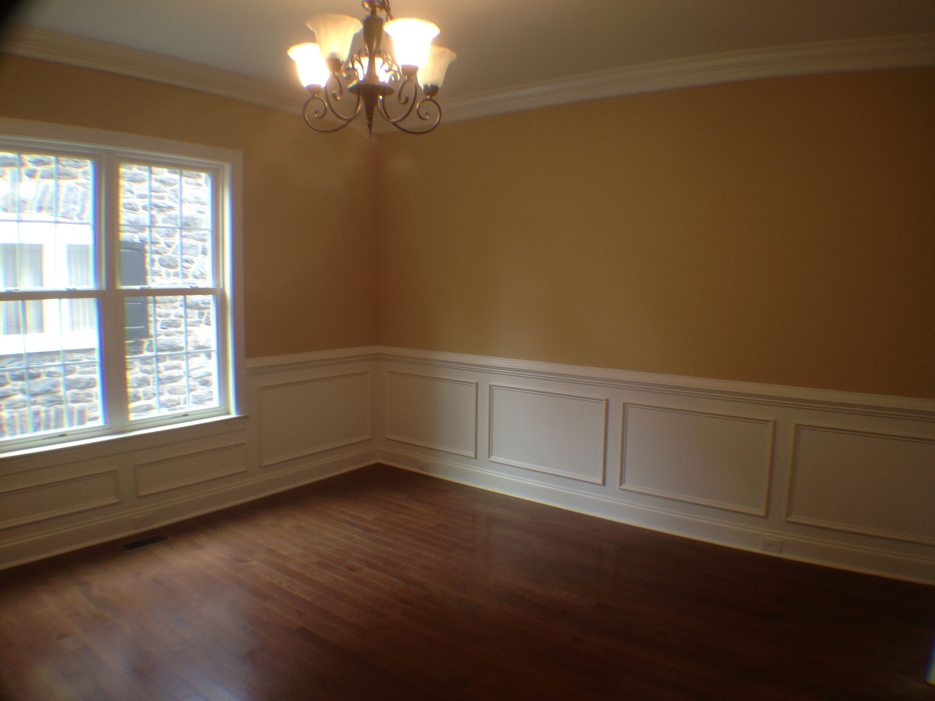 Bedroom Ceiling Moulding Dining Room With Chair Rail Shadow Boxing And Crown