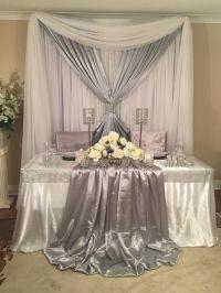 Sweetheart table wedding decor | Backdrops, Sweetheart and ...