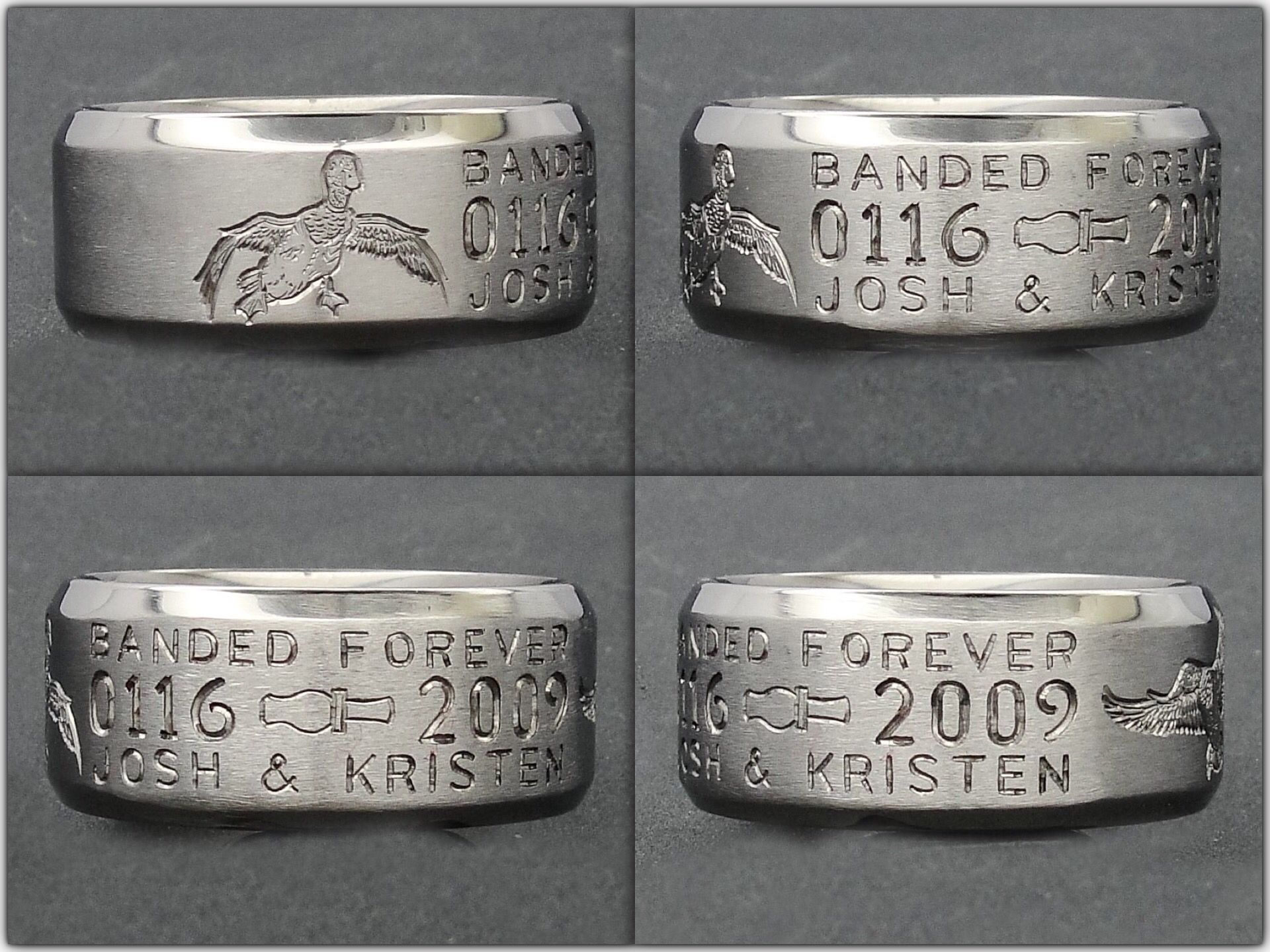 hunting wedding rings wedding rings for electricians Awsome Duck hunting Wedding Ring