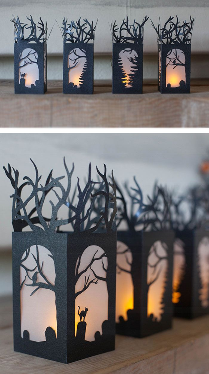Diy paper lanterns click pic for 20 diy halloween decorations for kids to make