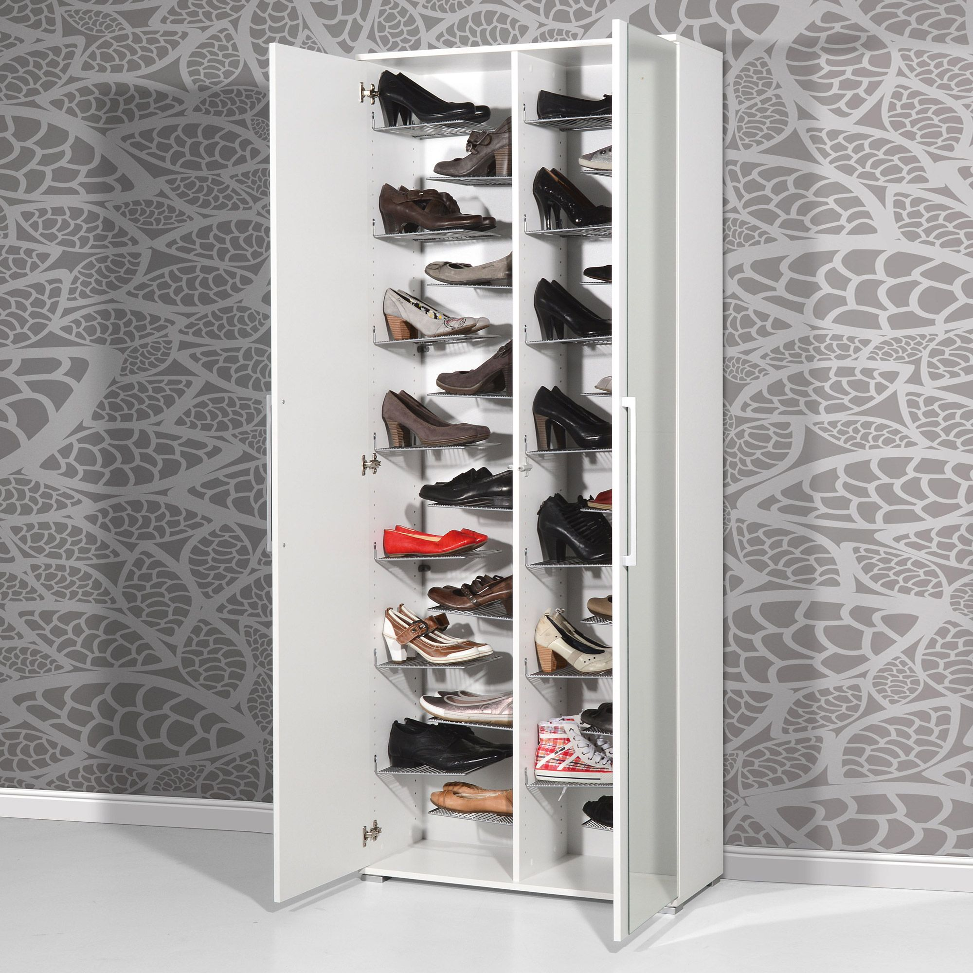 Meuble Chaussures 24 Paires Meuble Chaussure Case