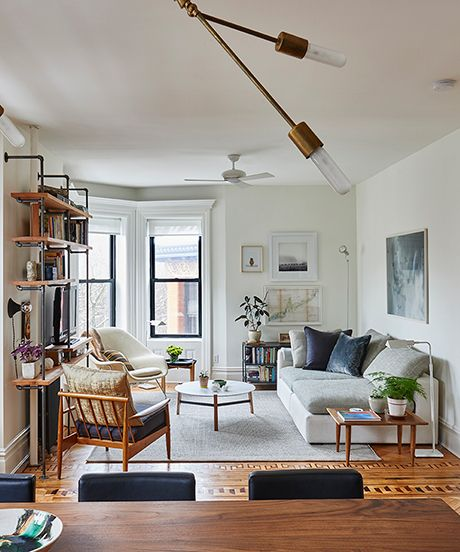A BK Home That Looks So Much Bigger Than It Is Small spaces - living room furniture nyc