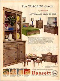 Vintage Bassett Furniture ad 1957 | My Bassett Furniture ...