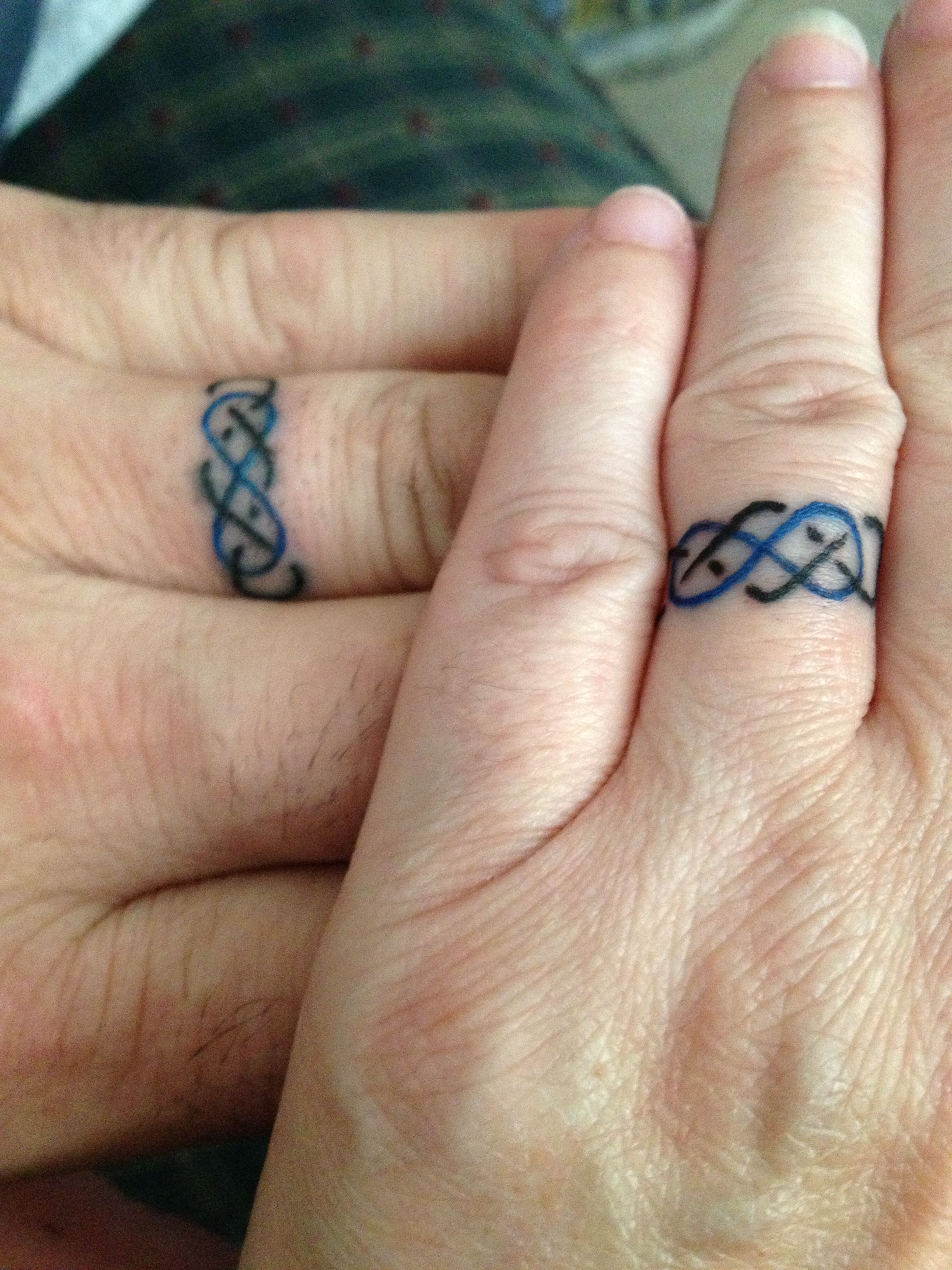 pagan wedding rings If this is the only Tattoo I have it will be perfect