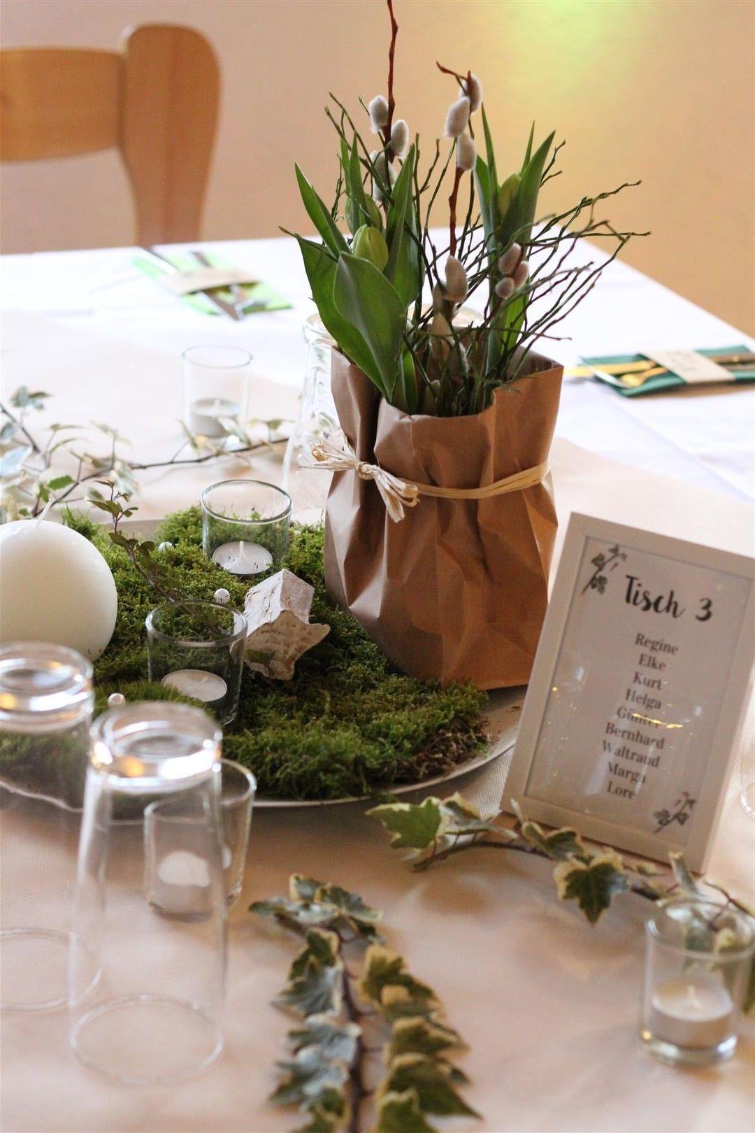 Tischdeko Taufe Basteln 1 Tischdeko Hochzeit Ehrenplatz Deko Rosen