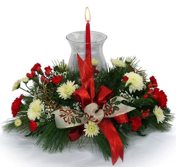 christmas floral centerpieces - Google Search Christmas Ideas - christmas floral decorations