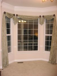 Bay Window Design Creativity   Window, Scarves and Room
