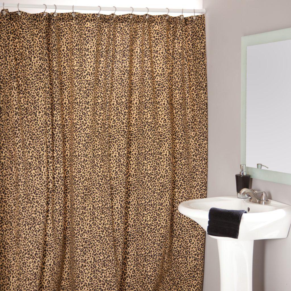 Cheetah shower curtains
