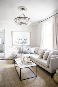 white/pale grey living room | WH House | Pinterest ...
