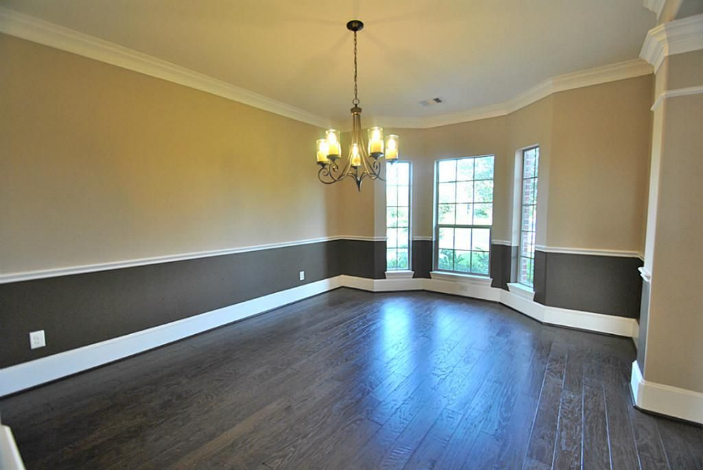 Elegant Formal Dining room with Upgrade two Tone Interior