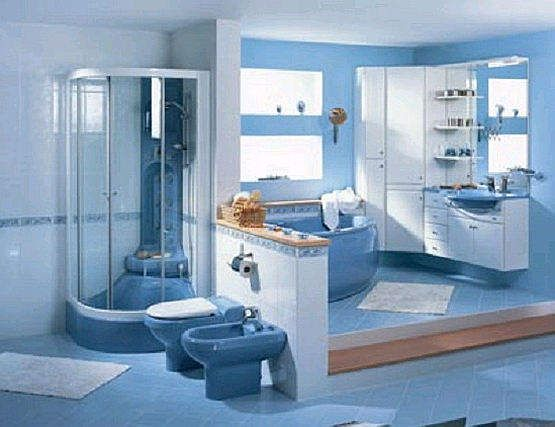 Bathroom  Simple Bathroom Color Ideas Blue Showers Bathroom Blue - blue bathroom ideas