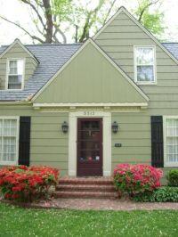 maroon front door | Front Door Colors | HOuse color ...