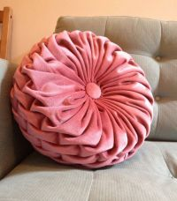 Round Decorative Pillow - Home Design