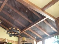 homes with corrugated metal ceiling | Corrugated Metal ...