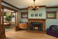 decorating oak woodwork taupe blue living room | dining ...