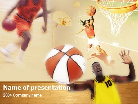 Fine basketball PowerPoint template help with presentations on - basketball powerpoint template