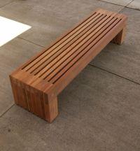 DIY Redwood Bench Design PDF Download ultimate computer ...
