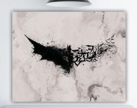Batman Watercolor Splash, DC Superhero Wall Art, Batman ...