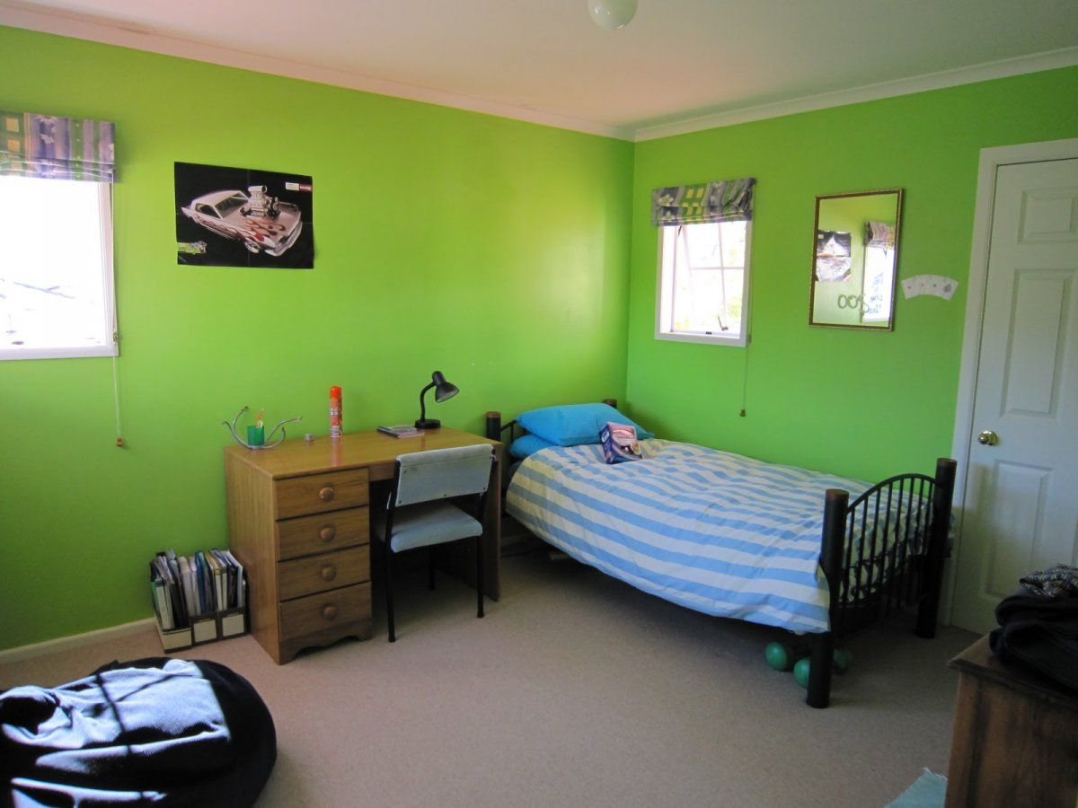 Boys Room Ideas A Simple 12 Year Old Boys Bedroom With Blue Striped Bed
