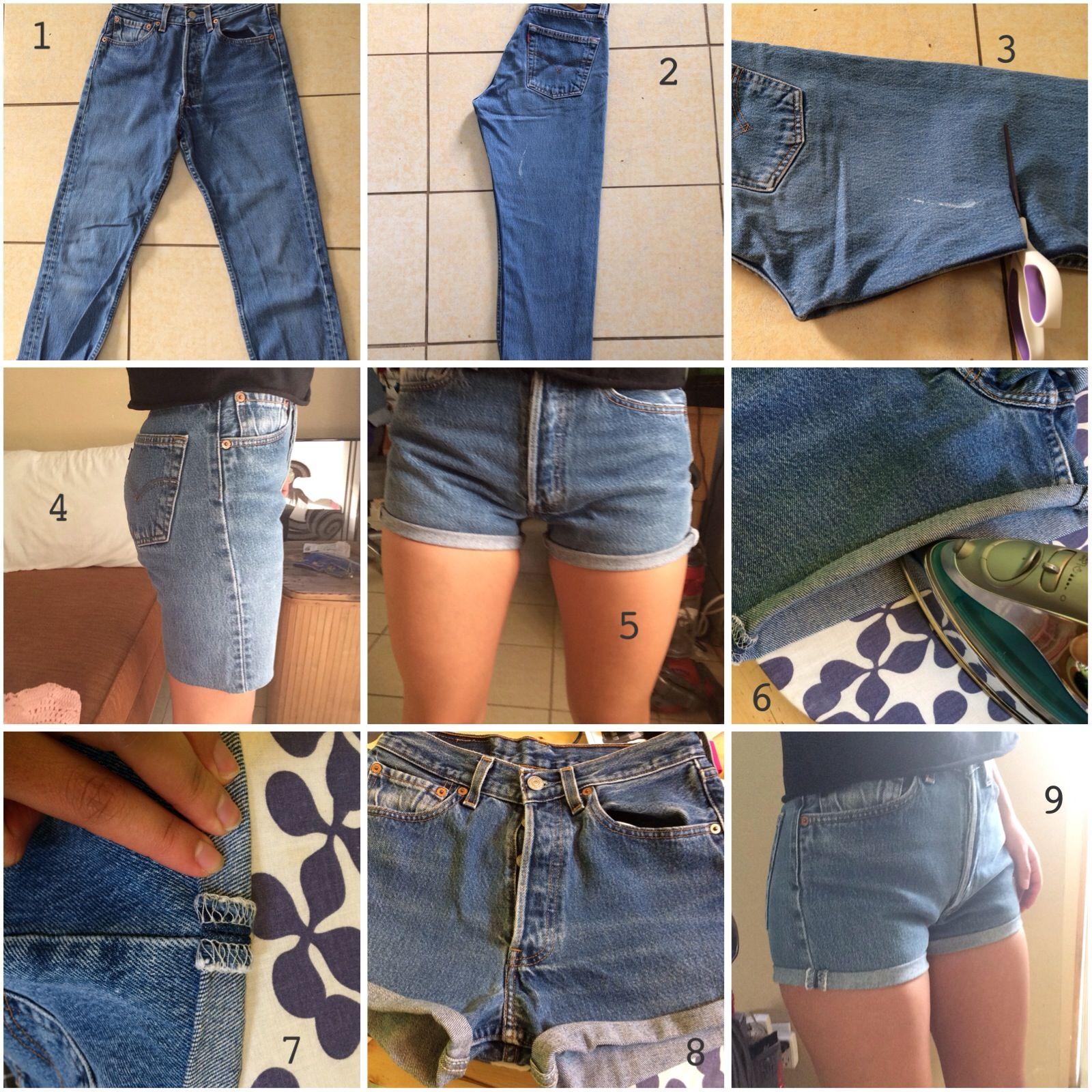 Diy Clothes For Summer Diy High Waisted Shorts High Waisted Shorts Tutorial From