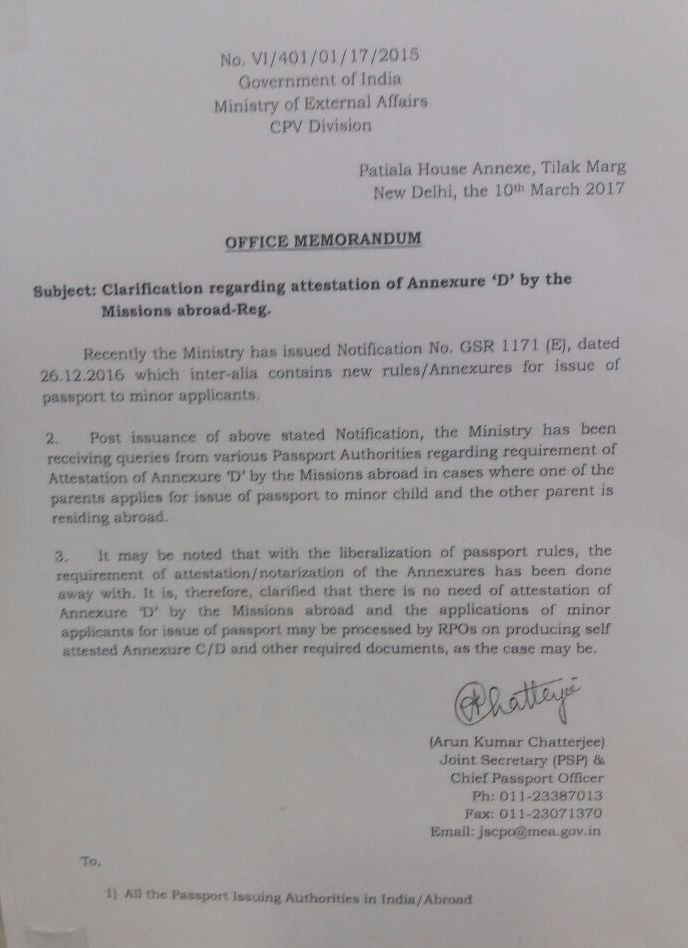 best letter of resignation ever%0A for applying passport his her minor child india authorization  inter  office letter